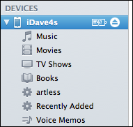itunes iphone voice memo 1