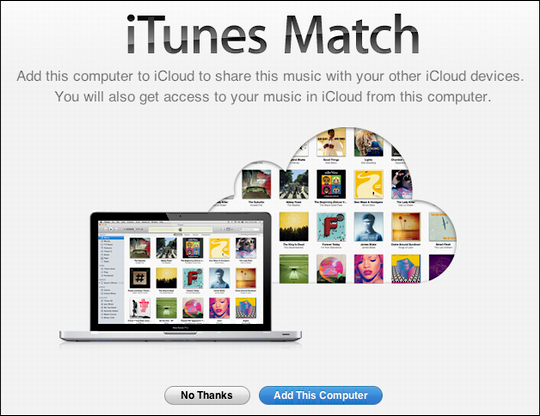 itunes music match get started 2