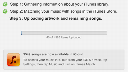 itunes music match getting started 6