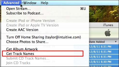 Add CD track info in Apple iTunes? - Ask Dave Taylor