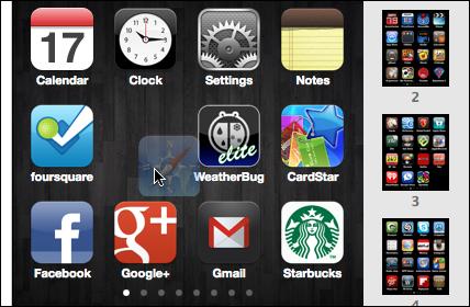 itunes rearrange app icons 2
