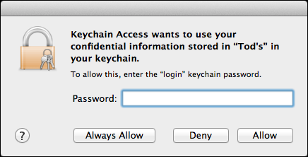 keychain access recover passwd 4