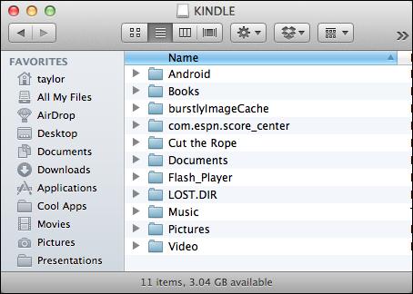 how to copy pdf to kindle mac