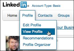 linkedin export resume profile 1