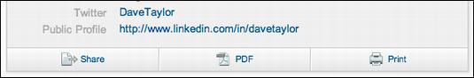 linkedin export resume profile 2
