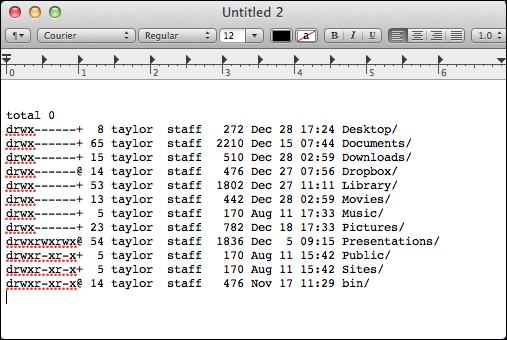 mac copy paste command line textedit