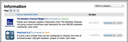 Can I change my Mac Dashboard weather widget provider? - Ask