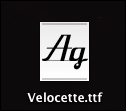mac lion install font 1