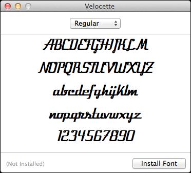 mac lion install font 2
