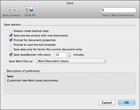 Change document owner's name in Microsoft Word for Mac? - Ask Dave ...