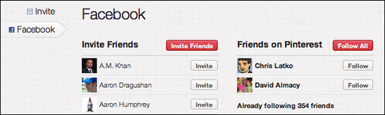 pinterest add invite friend 4