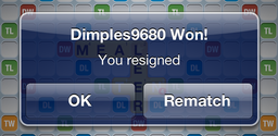 resign from words with friends game 6
