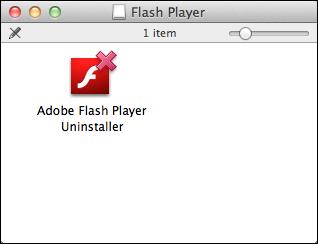 uninstall remove flash mac 1