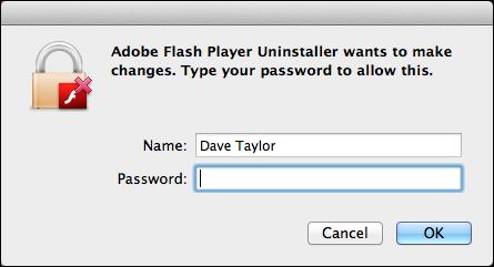 uninstall remove flash mac 4