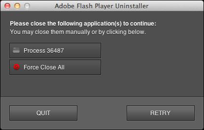 uninstall remove flash mac 6