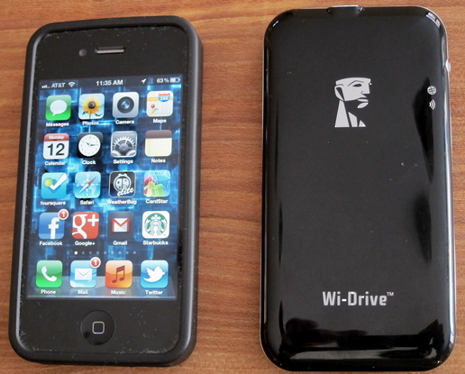 wi drive device iphone comparison