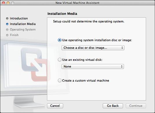 windows 8 vmware fusion mac 5