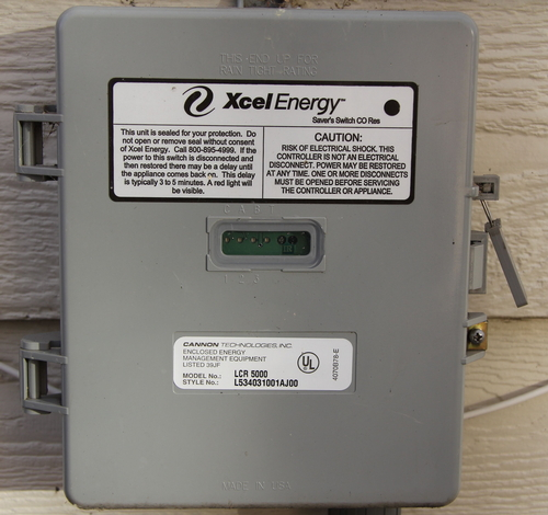 xcel dr switch