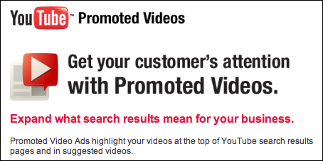youtube promoted videos