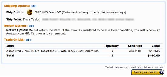 amazon trade in ipad 6