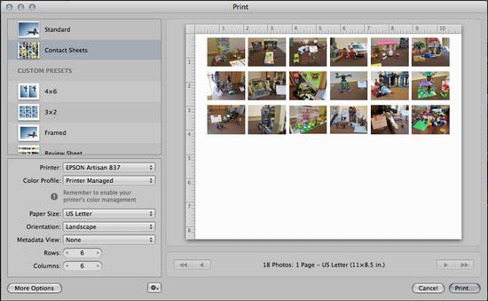 aperture create contact proof sheet 3