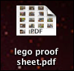 aperture create contact proof sheet 8