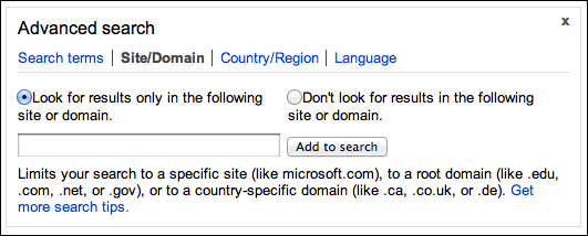 Is There An Advanced Search On Microsoft Bing?
