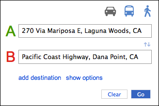 driving directions from my current location in bing maps ask dave taylor