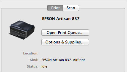 Review: Epson 837 Artisan All-in-One Printer - Ask Dave Taylor