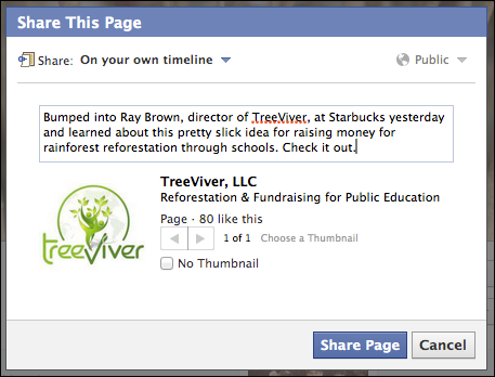 how can i share a friend s facebook page ask dave taylor