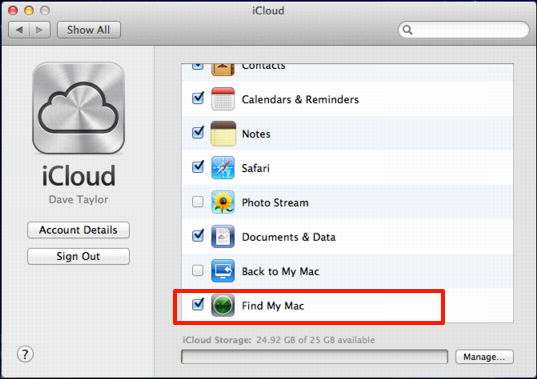 how to find an offline iphone find my macbook with quot find my iphone quot service ask dave 18801