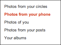 google plus photos auto uploaded publish 2