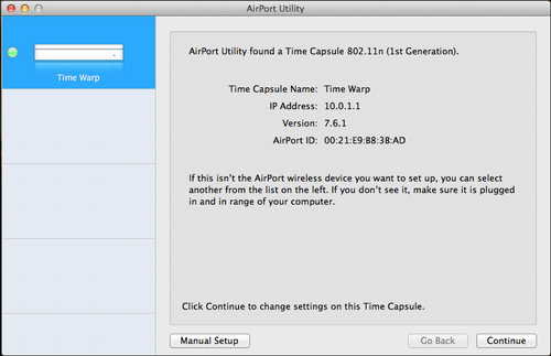 How do I reformat / reset an Apple Time Capsule? - Ask Dave