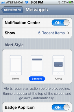 Stop text messages appearing on iPhone lock screen? - Ask