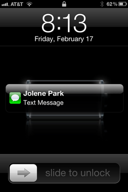 stop text messages appearing on iphone lock screen ask
