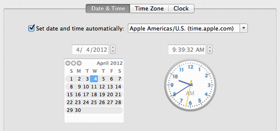 how to change the date and time on my mac