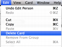 how to do back delete on mac