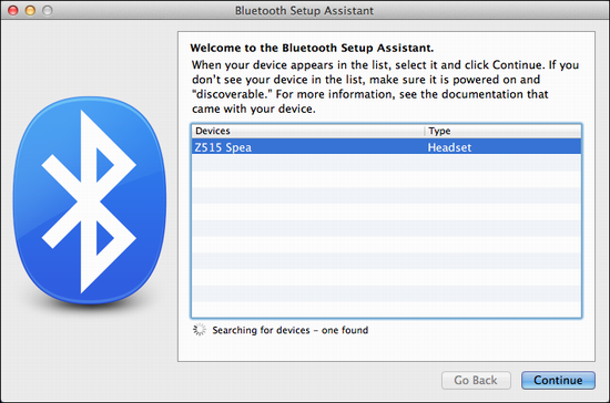 How can I pair a bluetooth speaker with my MacBook Pro