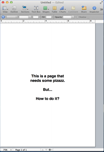 how to add page border in publisher