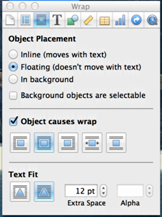 Add page borders in apple pages ask dave taylor for this graphical object to be behind the text you need to switch from floating to in background so do so by clicking on the button adjacent publicscrutiny Choice Image