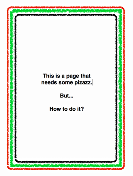 Add page borders in Apple Pages? - Ask Dave Taylor