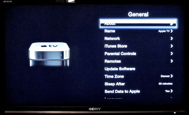 upgrade apple tv 3