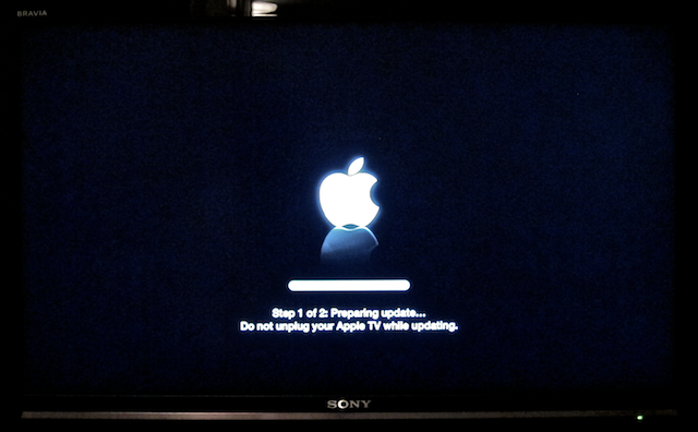 upgrade apple tv 6