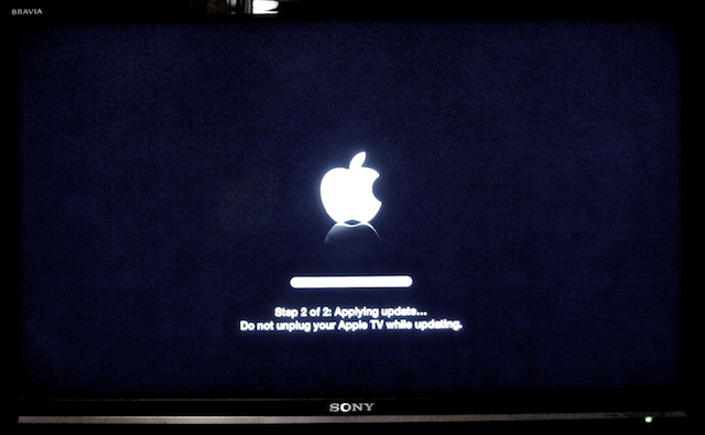 upgrade apple tv 7