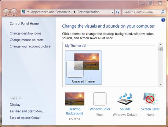 Change Window Border Color In Windows 7