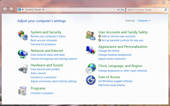 how to create a domain user account in windows 7