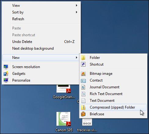 how to use 7 zip windows 7