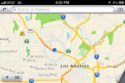 how to see live traffic on google maps