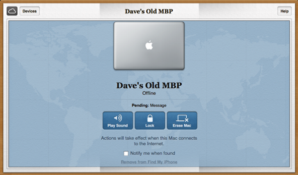 Remove an obsolete device from Find My iPhone? - Ask Dave Taylor