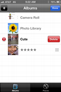 how to delete photo albums from iphone delete an album in photos app on the iphone 5 ask dave 4997